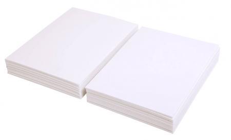 maildor 93656c lot de 30 feuilles de carton mousse blanc p 3mm a4. Black Bedroom Furniture Sets. Home Design Ideas
