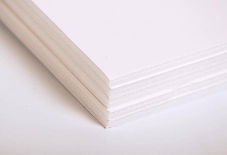 maildor 93661c lot de 5 feuilles de carton mousse blanc p 5mm 50x65. Black Bedroom Furniture Sets. Home Design Ideas
