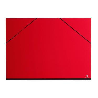 clairefontaine 44405c carton dessin couleur lastiques 52x72 b2 coloris rouge cerise. Black Bedroom Furniture Sets. Home Design Ideas