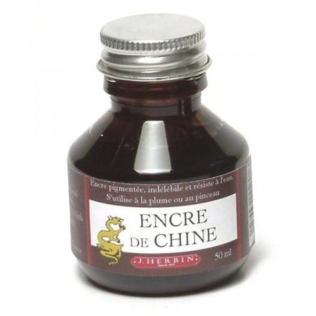 herbin 11240t encre de chine 50ml couleur marron. Black Bedroom Furniture Sets. Home Design Ideas