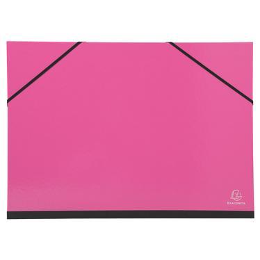 Exacompta 25729e carton dessin iderama lastiques 32x45 a3 coloris assortis - Carton a dessin a3 ...